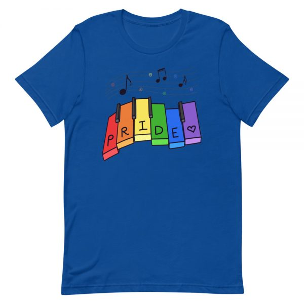 Pride Month: Music Notes T-Shirt