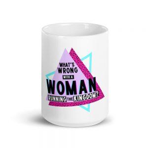 Courtney Reed: Woman Running Kingdom Mug