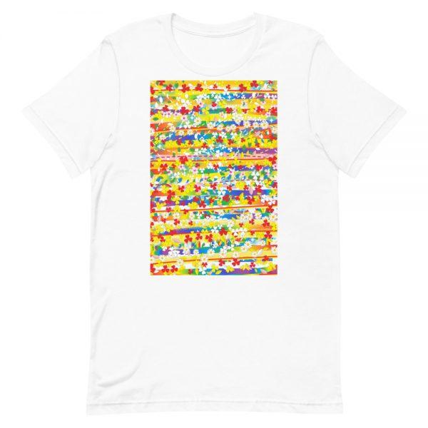 Alice Ripley: Original Artwork T-Shirt (Yellow / Centered)