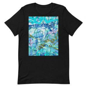 Alice Ripley: Original Artwork T-Shirt (Blue / Centered)
