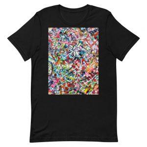 Alice Ripley: Original Artwork T-Shirt (Rainbow / Centered)