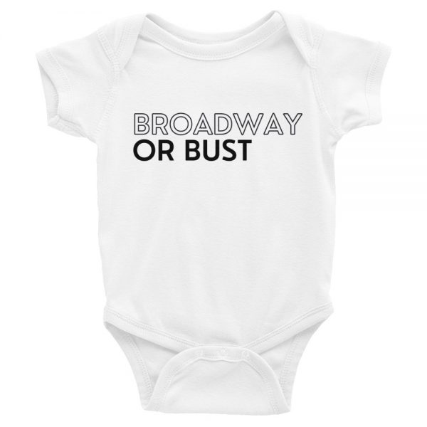 Courtney Reed: Broadway Or Bust Onesie