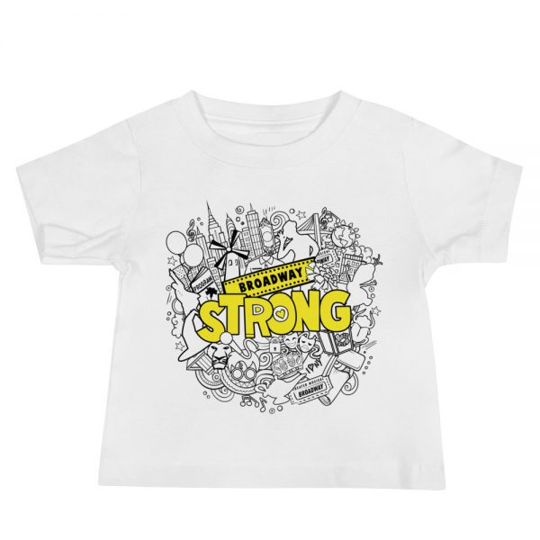 Broadway Strong Baby Short Sleeve Tee