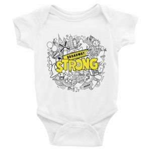 Broadway Strong Baby Onsie