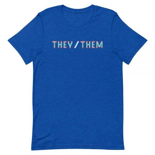 They/Them Pronoun T-Shirt